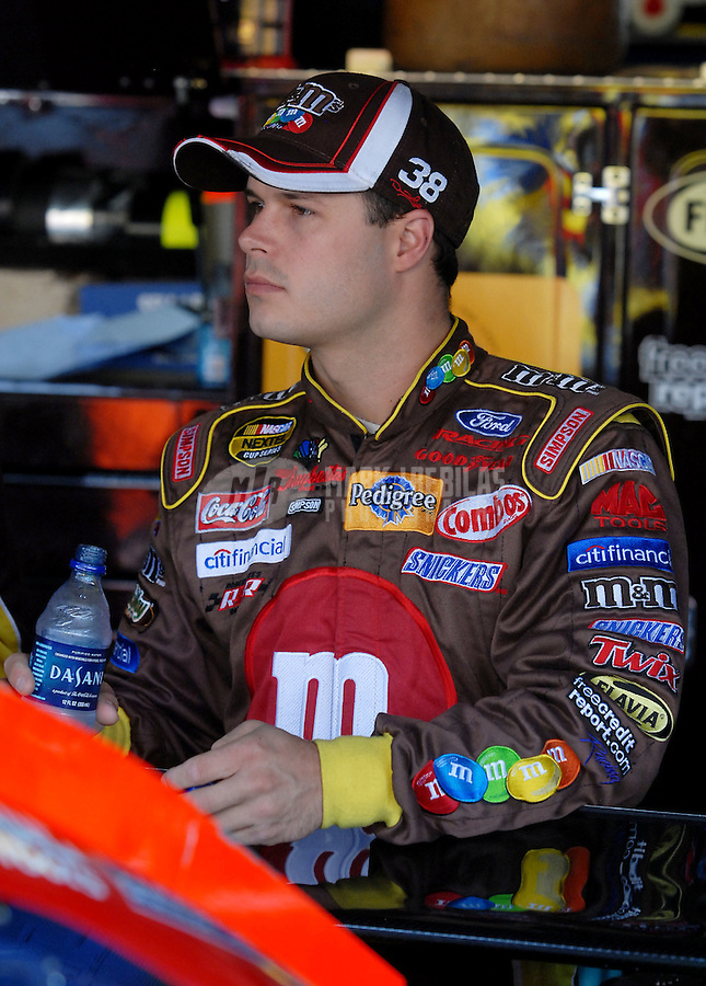 Jun 2, 2007; Dover, DE, USA; Nascar Nextel Cup Series driver David Gilliland (38) during practice for the Autism Speaks 400 at Dover International Speedway. Mandatory Credit: Mark J. Rebilas-US PRESSWIRE Copyright © 2007 Mark J. Rebilas..