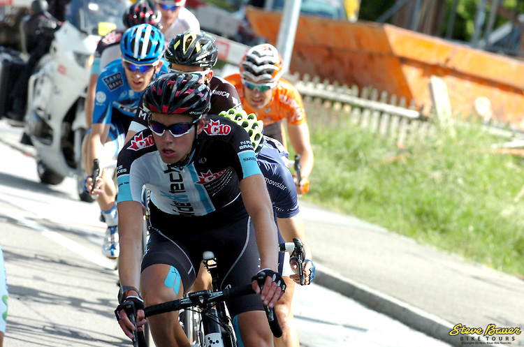 Raymond Künzli during Stage 6 of the Tour de Suisse. June 14, 2012. Photo by Sirotti