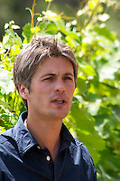Yves Orliac, son of Jean and Marie-Therese Orliac. Domaine de l'Hortus. Pic St Loup. Languedoc. Owner winemaker. France. Europe.