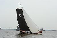 SKUTSJESILEN: SNEEK: Snitser Mar, 21-05-2011, SKS skûtsjesilen, skûtsje Drachten, Twee Gebroeders, schipper Albert Visser, ©foto Martin de Jong