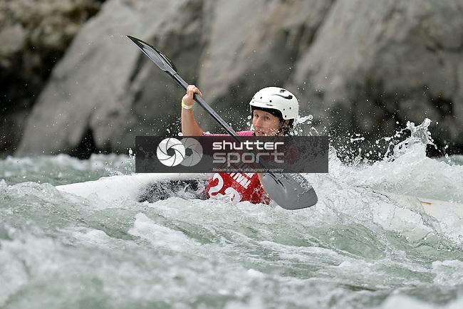MURCHISON, NEW ZEALAND - FEBRAURY 27: 2016 BullerFest Kayak Slalom and Rafter X on the Buller River in Murchison New Zealand on February 27 2016, Photos: Barry Whitnall/shuttersport