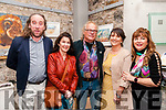 Michael Dowling Concert: Pictured at the concert to remember the late Michael Dowling on Friday night last at St John's Art Centre, Listowel were John Kennelly, Imelda Dowling, Leo Hilliard, Muriel Dowling Kennelly & Anne Hilliard.