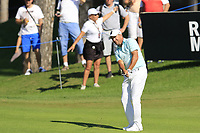 Darren Fichardt (RSA) chips onto the 10th green during Sunday's Final Round of the 2018 Turkish Airlines Open hosted by Regnum Carya Golf &amp; Spa Resort, Antalya, Turkey. 4th November 2018.<br /> Picture: Eoin Clarke | Golffile<br /> <br /> <br /> All photos usage must carry mandatory copyright credit (&copy; Golffile | Eoin Clarke)