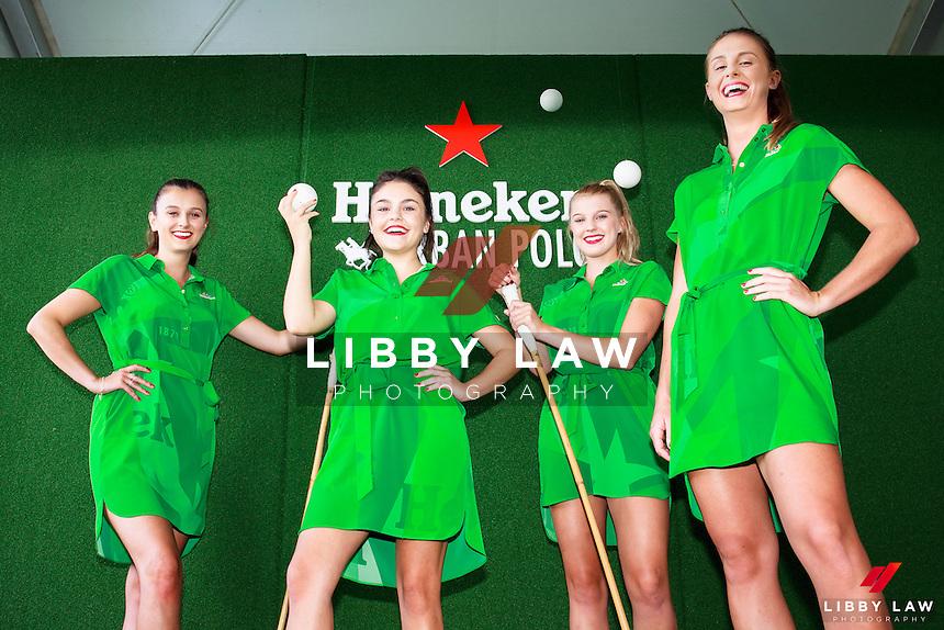 Heineken Urban Polo.  Parnell, Auckland. Saturday 25 February 2017. Copyright Photo: Libby Law / www.photosport.nz