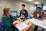 Angela Green's LIBA 102 class in Lamar.  Photo by Kevin Bain/University Communications Photography