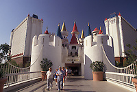 AJ3826, Las Vegas, casino, Nevada, The Excalibur Hotel Casino, the world's largest hotel, in Las Vegas in the state of Nevada.
