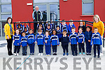 Miss Quirke's Junior Infants class in CBS NS on Monday with Denis Coleman (Principal) and Irene Lynch (Teacher)