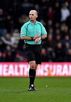 Referee Mike Dean<br /> <br /> Bournemouth 1 - 4 Tottenham Hotspur<br /> <br /> Photographer David Horton/CameraSport<br /> <br /> The Premier League - Bournemouth v Tottenham Hotspur - Sunday 11th March 2018 - Vitality Stadium - Bournemouth<br /> <br /> World Copyright &copy; 2018 CameraSport. All rights reserved. 43 Linden Ave. Countesthorpe. Leicester. England. LE8 5PG - Tel: +44 (0) 116 277 4147 - admin@camerasport.com - www.camerasport.com