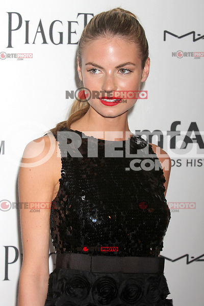 "Model Emily Ostilly, who is dating Harry_Styles of ""One Direction"" attending amfAR's third annual Inspiration Gala at the New York Public Library in New York, 07.06.2012..Credit: Rolf Mueller/face to face /MediaPunch Inc. ***FOR USA ONLY*** NORTEPHOTO.COM"