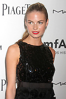 """Model Emily Ostilly, who is dating Harry_Styles of """"One Direction"""" attending amfAR's third annual Inspiration Gala at the New York Public Library in New York, 07.06.2012..Credit: Rolf Mueller/face to face /MediaPunch Inc. ***FOR USA ONLY*** NORTEPHOTO.COM"""
