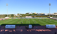 20200307  Parchal , Portugal : illustration picture showing the stadium during the female football game between the national teams of Belgium called the Red Flames and Portugal on the second matchday of the Algarve Cup 2020 , a prestigious friendly womensoccer tournament in Portugal , on saturday 7 th March 2020 in Parchal , Portugal . PHOTO SPORTPIX.BE | DAVID CATRY