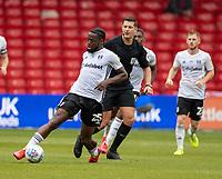 7th July 2020; City Ground, Nottinghamshire, Midlands, England; English Championship Football, Nottingham Forest versus Fulham; Joshua Onomah of Fulham on the ball