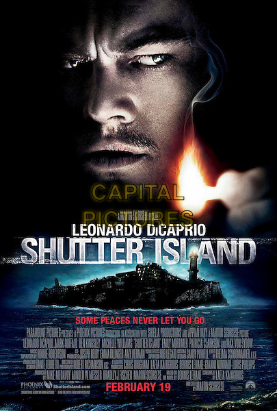 KEY POSTER ART.in Shutter Island .*Filmstill - Editorial Use Only*.CAP/FB.Supplied by Capital Pictures.