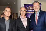 """LOS ANGELES - JAN 9: Guest, Mitch O'Farrell, Keith McNutt at The Actors Fund's """"In The Spotlight"""" Living Room Salon Series launch with special guest Sherry Lansing at a private estate on January 9, 2018 in Beverly Hills, CA"""