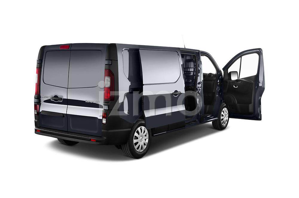 Car images close up view of a 2020 Renault Trafic Grand-Confort 4 Door Cargo Van doors