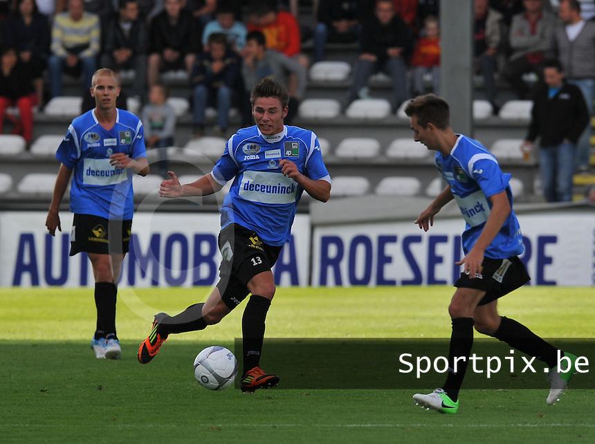 KSV Roeselare : Mackim Joos.foto DAVID CATRY / BART VANDENBROUCKE / VDB