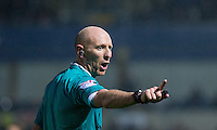 Referee Andy Davies during the Sky Bet League 2 match between Wycombe Wanderers and Morecambe at Adams Park, High Wycombe, England on 2 January 2016. Photo by Andy Rowland / PRiME Media Images