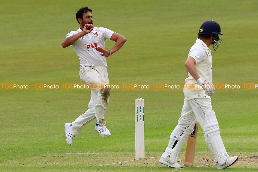 Ravi Bopara in bowling action for Essex during Gloucestershire CCC vs Essex CCC, Specsavers County Championship Division 2 Cricket at Cheltenham College on 13th July 2016
