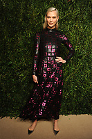 NEW YORK, NY - NOVEMBER 6: Karlie Kloss at the 14th Annual CFDA Vogue Fashion Fund Gala at Weylin in Brooklyn, New York City on November 6, 2017. Credit: John Palmer/MediaPunch