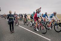 Tony Martin (GER/Katusha-Alpecin) coming through the feedzone<br /> <br /> 104th Tour de France 2017<br /> Stage 2 - Düsseldorf › Liège (203.5km)