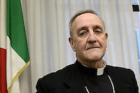 Roma, 9 Marzo 2015<br /> Monsignor Antonio Mennini .<br /> Commissione parlamentare di inchiesta sul rapimento e sulla morte di Aldo Moro,audizione del nunzio apostolico in Gran Bretagna, Monsignor Antonio Mennini.