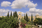 Israel, Shephelah, the Salesian Monastery at Beit Gemal built in 1873
