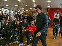 Bundestrainer Joachim Loew (Deutschland Germany) kommt zur PK - 15.03.2019: Pressekonferenz der Deutschen Nationalmannschaft, DFB Zentrale Frankfurt