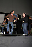 The Bold and the Beautiful Don Diamont and fan dance on stage in scene at the Soapstar Spectacular starring actors from OLTL, Y&R, B&B and ex ATWT & GL on November 20, 2010 at the Myrtle Beach Convention Center, Myrtle Beach, South Carolina. (Photo by Sue Coflin/Max Photos)