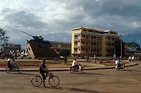 Panzerdenkmal in Buon Ma Thuot, zentrales Hochland, Vietnam