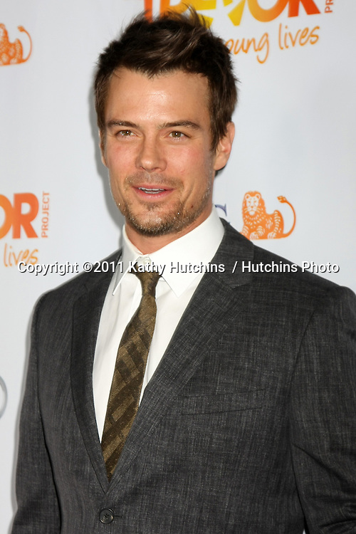 "LOS ANGELES - DEC 4:  Josh Duhamel arrives at ""The Trevor Project's 2011 Trevor Live!"" at Hollywood Palladium on December 4, 2011 in Los Angeles, CA"