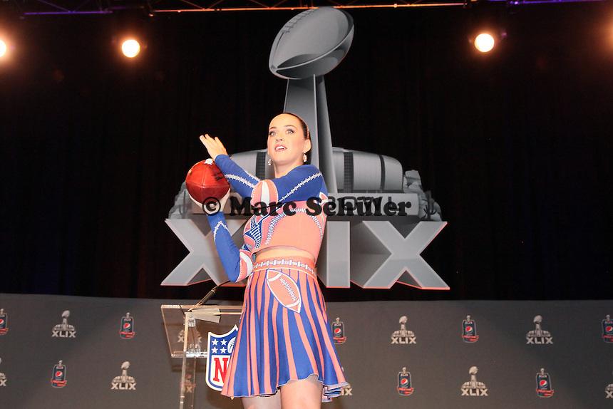 Sängerin Katy Perry - Entertainment Pressekonferenz, Convention Center Phoenix