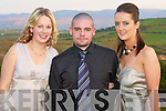 FUN: Having fun at the Nurses Ball at the Ballyroe Heights hotel on Thursday l-r: Katy Biggs, Barth Flynn and Jenny Friel.