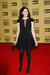 January 15, 2010:  Sarah Silverman arrives at the 15th Annual Critics' Choice Movie Awards held at the Palladium in Los Angeles, California. .Photo by Nina Prommer/Milestone Photo