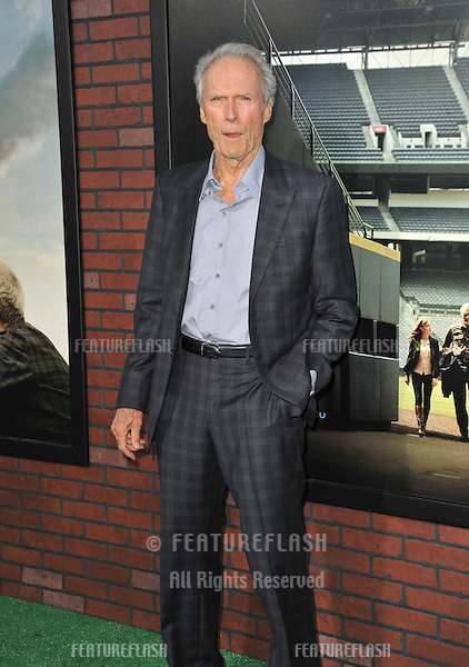 "Clint Eastwood at the premiere of his movie ""Trouble With The Curve"" at the Mann Village Theatre, Westwood..September 19, 2012  Los Angeles, CA.Picture: Paul Smith / Featureflash"