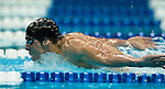 02 July 2008-- USA Swimming 2008 Olympic Swim Trials. Michael Phelps competes in the 200-meter butterfly during the 2008 Olympic Swim Trials in Omaha, Neb. on Wednesday July 2. PHOTO/Daniel Johnson