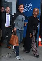 Robin Roberts Seen In NYC