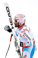06.02.2013, Planai, Schladming, AUT, FIS Weltmeisterschaften Ski Alpin, Super-G, Herren, im Bild Gauthier De Tessieres (FRA), 2. Platz // Gauthier De Tessieres of France , 2nd place, during Super-G Men at the FIS Ski World Championships 2013 at the Planai Course, Schladming, Austria on 2013/02/06. EXPA Pictures © 2013, PhotoCredit: EXPA/ Martin Huber .Schladming 6/2/2013 .Mondiali Sci 2013.SuperG Uomini.Foto Insidefoto - ITALY ONLY