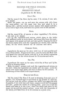 BNPS.co.uk (01202 558833)<br /> Pic:AmberleyPublishing/BNPS<br /> <br /> ***Please Use Full Byline***<br /> <br /> Basic recipes for the troops...<br /> <br /> A page from the recipe book, recipes include, sea pie and toad-in-the-hole.<br /> <br /> A cookbook for WWI soldiers has been published for the first time in 100 years revealing the surprising recipes that British Tommies lived on in the trenches.<br /> <br /> Hundreds of thousands of troops were armed with The British Army Cook Book as they headed to off war in 1914.<br /> <br /> The book contained detailed instructions on how to rustle up mouth-watering menus to feed entire platoons using meagre war-time rations.<br /> <br /> The dishes might sound tempting but in reality those on the frontlines would have had to rely more on powdered foods because fresh produce often took too long to reach them.<br /> <br /> The 1914 British Army Cook Book has been reprinted by Amberley Publishing for the first time since it was first issued 100 years ago.<br /> <br /> It is on sale now for &pound;9.99.