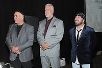 LAS VEGAS, NV - MAY 02: Scott Hall, Kevin Nash and Sean Waltman at the 2018 Cauliflower Alley Club Awards Banquet And Dinner at the Gold Coast Hotel & Casino in Las Vegas, Nevada on May 2, 2018. Credit: George Napolitano/MediaPunch
