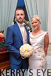 Annie O'Loughlin, Manor West Tralee, daughter of Tom and Mary O'Loughlin, and Trevor Lyons, Balloonagh Tralee, son of Thomas and Mary Lyons, were married at St. John's Church Tralee by Fr. Sean Hanafin on Wednesday 31st December 2014 with a reception at Ballyseedy Castle Hotel