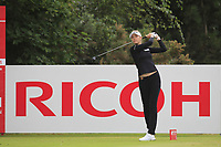 Nelly Korda (USA) on the 3rd tee during Round 2 of the Ricoh Women's British Open at Royal Lytham &amp; St. Annes on Friday 3rd August 2018.<br /> Picture:  Thos Caffrey / Golffile<br /> <br /> All photo usage must carry mandatory copyright credit (&copy; Golffile | Thos Caffrey)