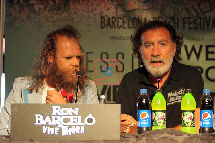 Barcelona Beach Festival 2016.<br /> Tommy Franklin &amp; Pino Sagliocco.