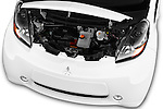 Car Stock 2016 Mitsubishi iMiEV 5 Door Micro Car Engine  high angle detail view