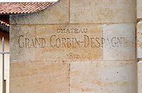 Chateau Grand Corbin Despagne, Saint Emilion Bordeaux France