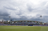 The clouds gathered late afternoon around the Oval during India vs Australia, ICC World Cup Cricket at The Oval on 9th June 2019