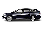 Car Driver side profile view of a 2015 Toyota Avensis Business Executive 5 Door Wagon Side View