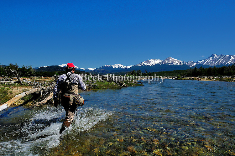 Spring Creek fly fishing in Tres Valles, Argentina