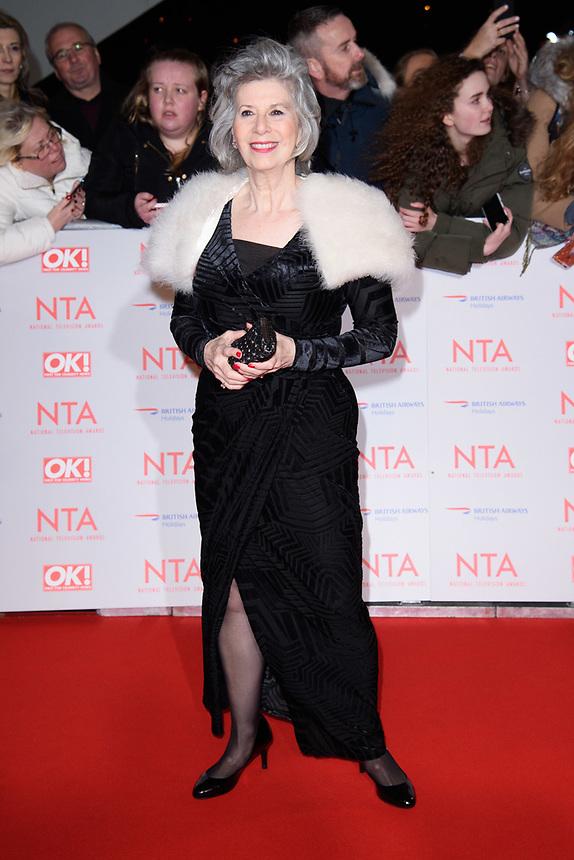 Elizabeth Estensen<br /> arriving for the National Television Awards 2018 at the O2 Arena, Greenwich, London<br /> <br /> <br /> ©Ash Knotek  D3371  23/01/2018