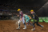 SX 2 / Cameron McAdoo<br /> 2018 SX Open - Sydney <br /> Australian Supercross Championships<br /> Qudos Bank Area / Sydney Aus<br /> Saturday Nov 10th 2018<br /> &copy; Sport the library/ Jeff Crow / AME