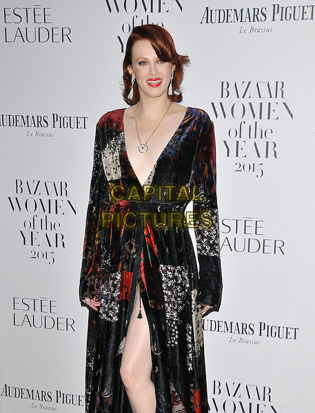 Karen Elson attends the Harper's Bazaar Women of the Year Awards 2015, Claridge's Hotel, Brook Street, London, England, UK, on Tuesday 03 November 2015. <br /> CAP/CAN<br /> &copy;Can Nguyen/Capital Pictures